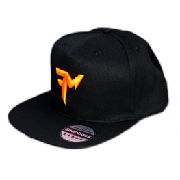 FEEDERMANIA BLACK SNAPBACK