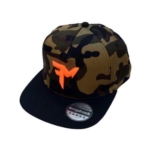 FEEDERMANIA CAMO SNAPBACK